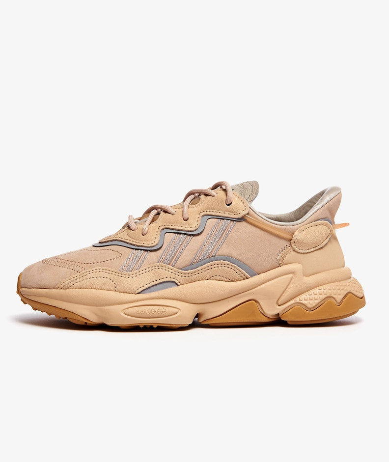 ADIDAS OZWEEGO(PALE NUDE/LIGHT BROWN/SOLAR RED)