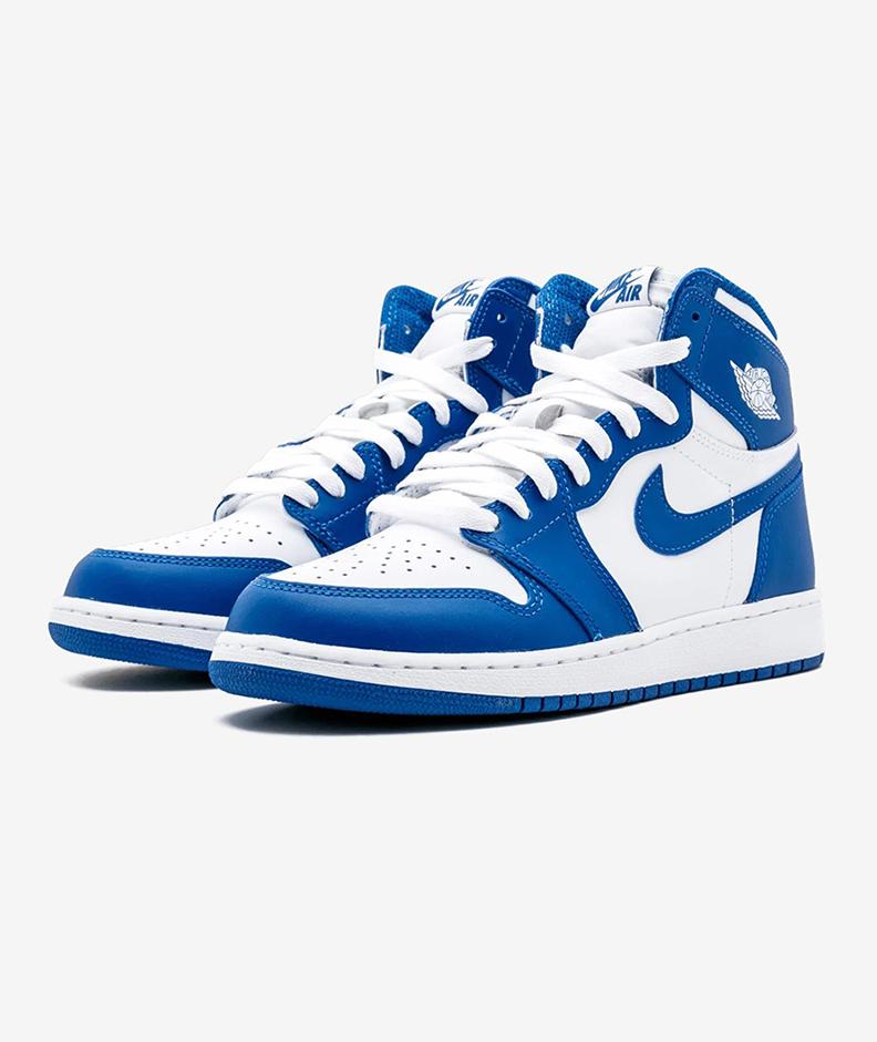 AIR JORDAN 1 RETRO HIGH OG BG(BLUE/WHITE-STORM BLUE)